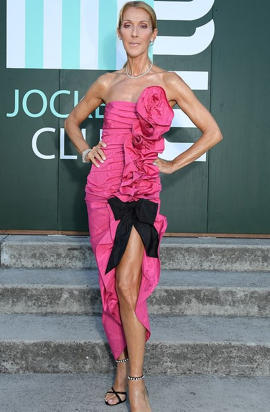 celine dion weight loss cancer