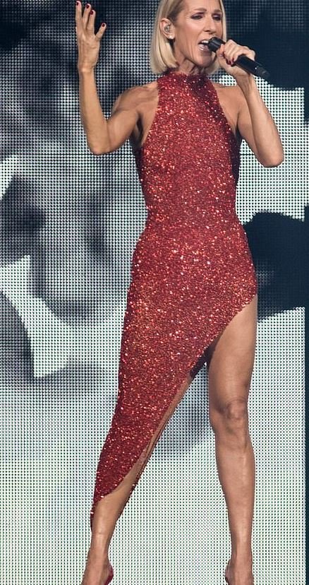 celine dion's weight loss